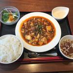 蔓山 - ランチセット(陳麻婆豆腐)