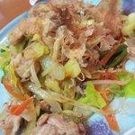 よし村 - 野菜炒め。