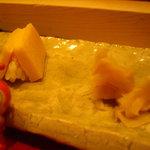 寿司茶房 吉扇 - いちばんのおたのしみ くらがけたまご