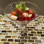 串かつゴエンヤ - いろいろトマトのカプレーゼ