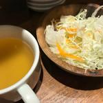 68841567 - スープ、サラダ