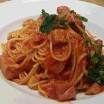 イタリアン Bambu - ベーコンとルッコラのトマト