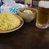 ハルピンラーメン 下諏訪町役場前店 - 料理写真:つけ麺&生ビール~☆