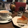 本町二丁目 玉川コーヒー店 - 料理写真:カフェオレとチーズケーキ