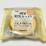 シャトレーゼ - 料理写真:糖質30%カットのふんわりロールケーキ(120円)