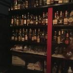 Amber - ウイスキーのボトルがたくさん!