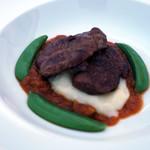 フェルミエ - 新潟県産豚のほほ肉赤ワイン煮トマトソース