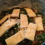 蕎麦ダイニング鶍 - 料理写真:限定七夕そば(冷やかけ)