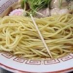 胡座 - 麺の細さ