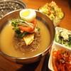 スープ冷麺