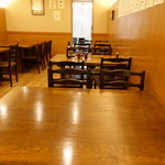 そば処 とき - ☆店内のテーブル席(*^_^*)☆