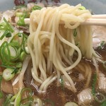 餃子大学 - 中太麺