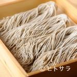 トリュフ蕎麦 わたなべ - 時期ごとに、おいしい蕎麦粉をさまざまな産地から仕入れ