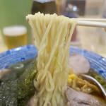 手打ちラーメン 本丸 - 「醤油チャーシュー麺」(800円)