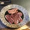 かどやホルモン店 - 料理写真:ハラミと塩タンをハーフサイズで。最高!!