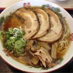 権兵衛 - チャーシュー麺  大きなチャーシューが3枚