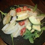 ファンタジスタ - 水ナスと鶏ナンコツのさっぱりサラダ