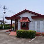 ローリエ - 【外観 】白い壁と赤い瓦屋根が印象的