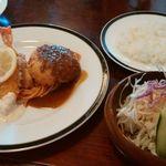 ローリエ - 【料理】レディースランチ1400円(スープ・サラダ・ライス・コーヒー付)