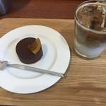 マジドゥショコラ - 生チョコスフレとアイスオレ