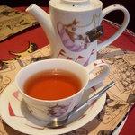 ダヤンカフェ - セットの紅茶