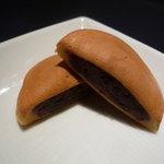 阿闍梨餅本舗 京菓子司 満月 - ☆小豆の味わいともっちりさがGood!!(*^。^*)☆