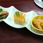 三笑亭本店 - 前菜