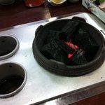 三笑亭本店 - 火鉢