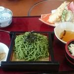 山賊鍋 - 茶そば定食☆