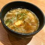 68861658 - 魚介系の味が口に広がるスープだよ^ ^
