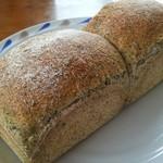 ameen's oven - 新茶のトースト(×2の状態)