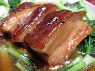 景徳鎮 - 豚の角煮,中華野菜添え