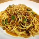 3552食堂 - 料理写真:季節のベジミートソース