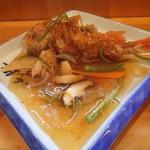 旬の味みはる - 料理写真:メンメの唐揚げ餡かけ