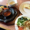 フォルクス - 料理写真:平成28年12月14日ランチ和風おろしハンバーグポン酢ソース1,080円税別
