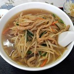 香港料理 麒麟閣 - もやしラーメン