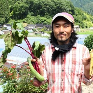 あちゅらむ農園で自然農の野菜を作ってます。