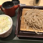 国産二八蕎麦 蕎香 - 二八そば ¥550-