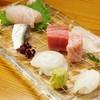 九 - 料理写真:鮮魚の刺身盛りあわせ