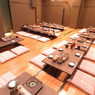 【座席】最大50名様までご宴会対応