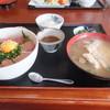 魚屋の寿司 東信 - 料理写真:マグロとブリのづけ丼定食でした☆ 2017-0208訪問