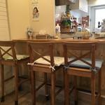 ツモリ カフェ&フラワー - カウンター席
