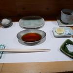 川原崎 - 料理写真:テーブルセッティング