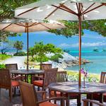 セイルフィッシュ カフェ - 青い海と空を眺めながら食事ができるテラス席