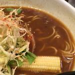 広尾のカレー - 牛テールカレースープ