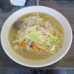 湯麺戸塚 - 料理写真:湯麺 麺大盛
