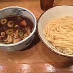 江戸前つけ麺 サスケ - 麺はもちもちしっとり太麺
