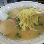 68879230 - 京都に珍しい細麺ストレート