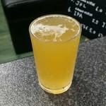 ボナペチ 餃子とクラフトビール  - 常陸野ホワイトエール200ml:600円