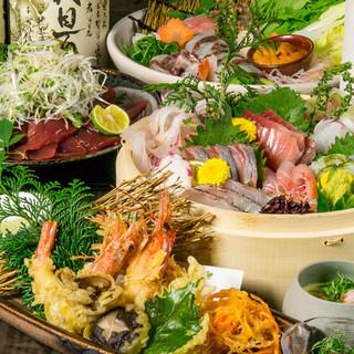 【数量限定】こだわり料理7品+飲み放題⇒2997円~